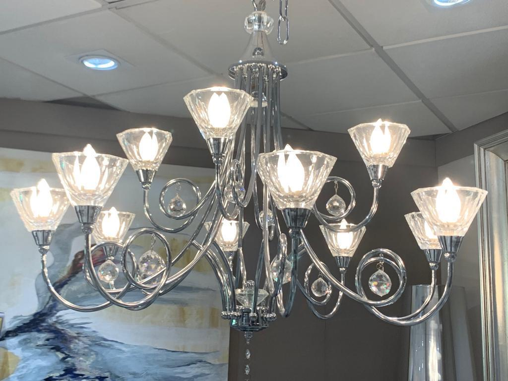 Lámpara Chandelier